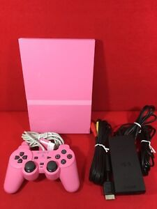 USED-PlayStation-2-Console-Pink-Limited-Color-SCPH-77000PK-Sony-F-S-Japan