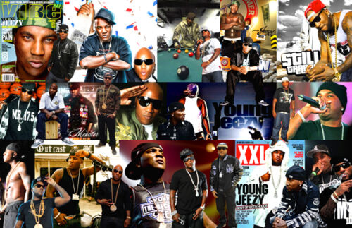 Young Jeezy Collage Poster