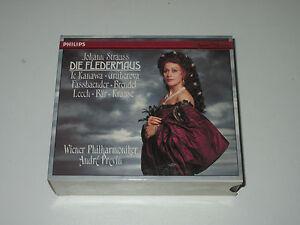 2-CD-BOX-STRAUSS-DIE-FLEDERMAUS-GRUBEROVA-TE-KANAWA-PREVIN-Philips-432157-2