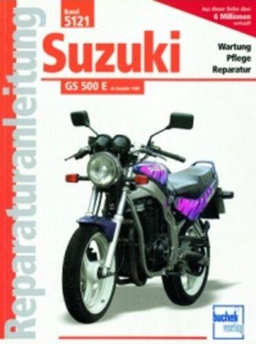1 von 1 - WERKSTATTHANDBUCH REPARATURANLEITUNG WARTUNG 5121 SUZUKI GS 500 E