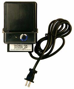 Details About 150 Watt 12v Low Voltage Landscape Lighting Transformer Led Compatible