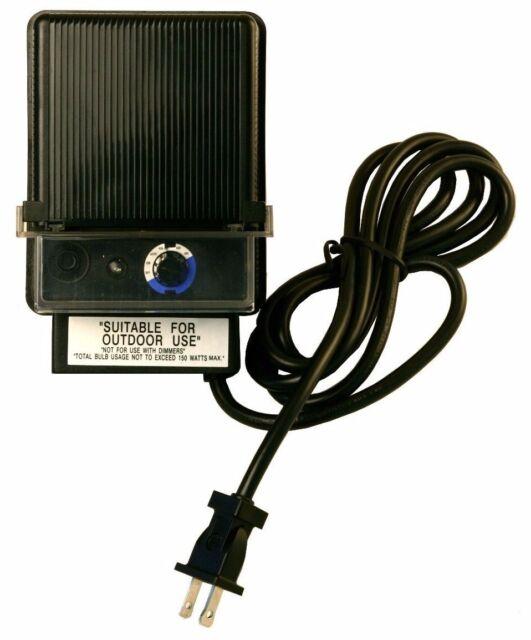 150 WATT 12V LOW VOLTAGE LANDSCAPE LIGHTING TRANSFORMER LED COMPATIBLE - 150 Watt 12v Low Voltage Landscape Lighting Transformer LED Compatible