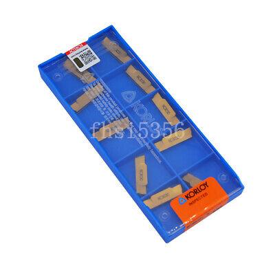 KORLOY MGMN500-M NC 3030  Carbide inserts 10pcs 1box
