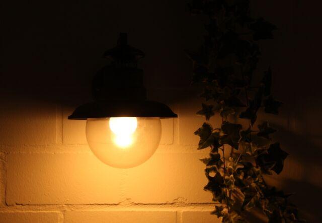 Außenleuchte Wandleuchte Wandlampe Laterne Osram LED ARTU schwarz-gold 8221