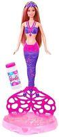 Barbie Bubble-tastic Mermaid Doll Mattel Cff49
