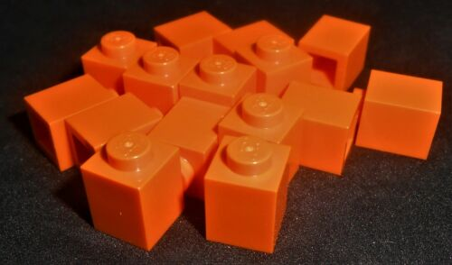 Lego 1x1 Bricks Orange---Lot of 15