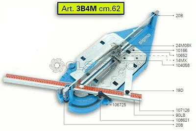 Spare Parts And Accessoires For Tile Cutter Sigma 3b4m Ex