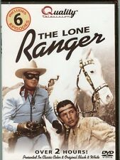 The Lone Ranger - DVD - NEW -  6 Great Episodes - Clayton Moore