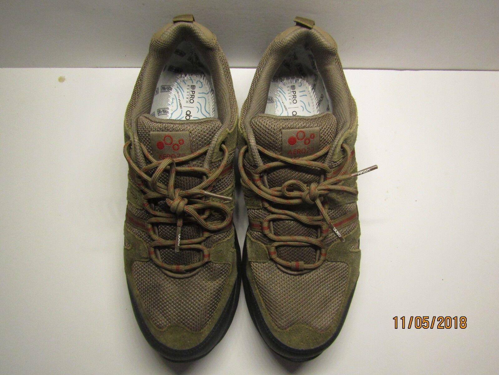 ABEO Jimmy Men's Hiking shoes - Khaki - Size 9.5 9.5 9.5 M ( MSRP    179.95 ) 0ed1b0