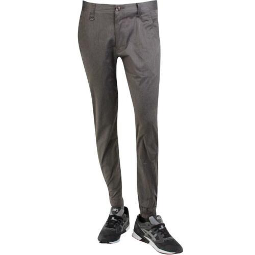 Publish Tahoma Two Tone Stretch Twill Jogger Pants gray // charcoal