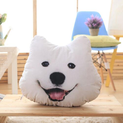 Muñeca almohada cojín lavable 3D Regalos Husky Alaska Malamute Peluche Realista