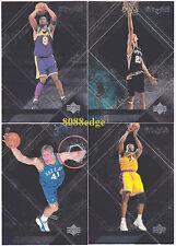 1999-00 UPPER DECK UD BLACK DIAMOND COMPLETE 90 CARDS BASE SET: KOBE BRYANT/SHAQ