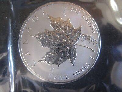 """Roman Zodiac /""""Virgo/"""" $5 Pure.9999 1 oz Canada 2004 Silver maple Leaf RCM sealed"""