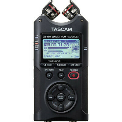 Pro Audio Equipment Enthusiastic Tascam Dr-40x Digital Audio Recorder And Usb Interface Pretty And Colorful
