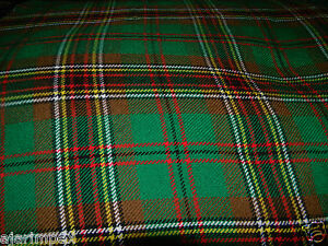 Details about Acrylic Tartan Fabric Tara/Murphy Irish Tartan 4 Yard 144'  Long & 53