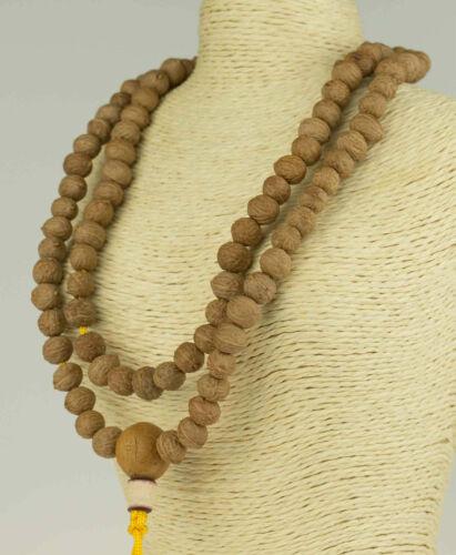Mala Prayer Beads Necklace Raktu Seeds Nepal Rosary Buddha Buddhism 86 G