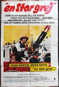 Filmplakat-En-Stor-Grej-Dean-Martin-Brian-Keith-Schweden-1972