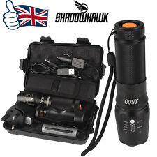 8000lm Genuino Shadowhawk X800 Táctico Linterna LED Zoom Militar linterna G700