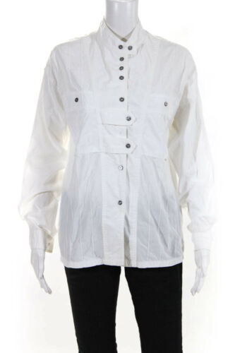 Isabel Marant Womens Button Down Crew Neck Shirt W