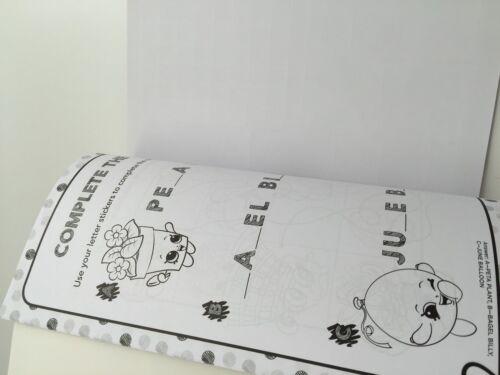 Girl Kids Children SHOPKINS Sticker Activity Book 16 PAGES