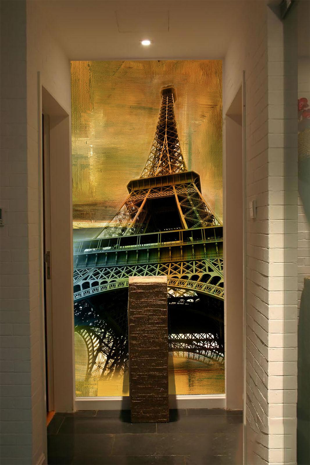 3D Trasmissione 3 Parete Murale FotoCarta da parati immagine sfondo muro stampa