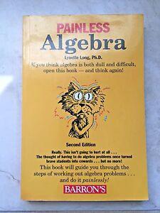 Painless Algebra (Barrons Painless) 2nd Edition