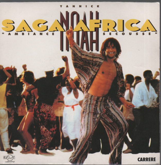 "Yannick Noah Saga Africa / Night Of Blues 45T 7"" SP 45 Tours"
