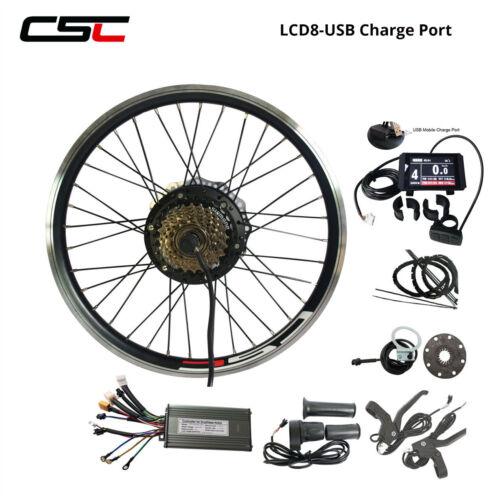 36 V Support Kit de conversion 20-29 in 250 W 500 W Cyclisme moteur moyeu roue BLUETOOTH
