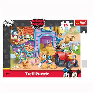 TREFL-puzzle-15-pieces-DISNEY-Mickey-et-ses-amis-3-NEUF