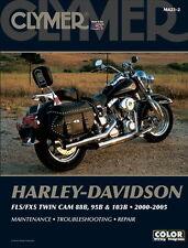 Harley-Davidson FLS / FXS Twin Cam 88B 95B & 103B 2000-2005 Clymer Manual M4232