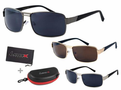 LOOX Pilotenbrille Sonnenbrille  Herren Damen Retro Fliegerbrille GOA Modell 111
