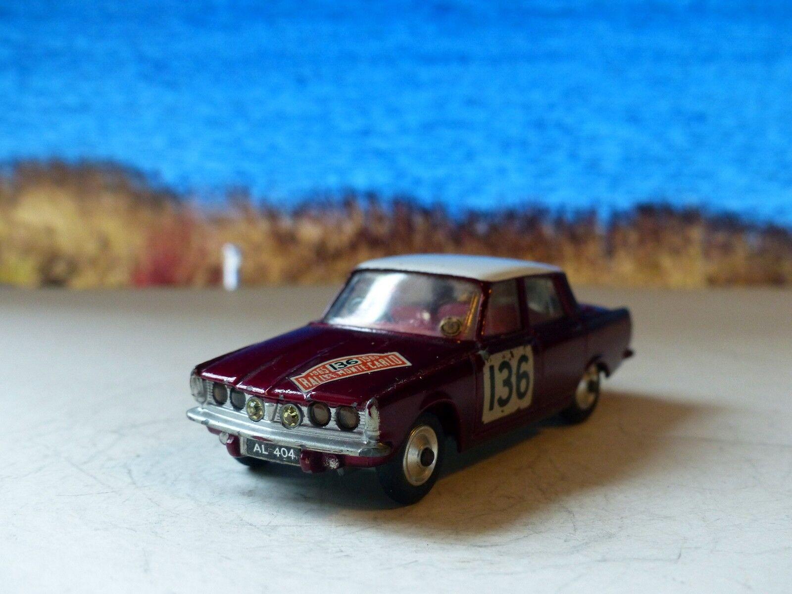 CORGI giocattoli 322 ROVER 2000 Monte autolo EDIZIONE 1