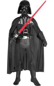 Boys Darth Vader Star Wars Space Film World Book Day Fancy Dress Costume