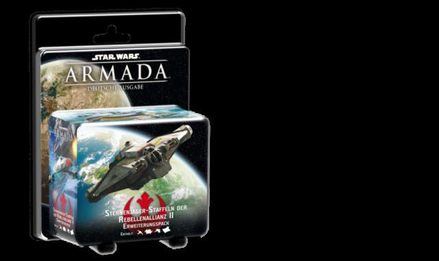 Star Wars - Armada - Sternenjägerstaffeln der Rebellenallianz 2 Erweiterungspack