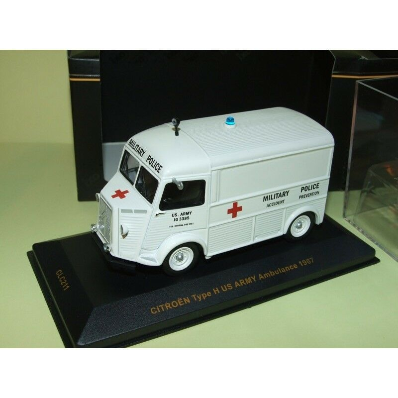 CITROEN TYP H US ARMY AMBULANCE 1967 MILITAIRE IXO CLC211 43