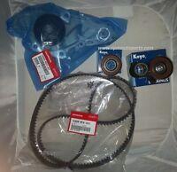 Genuine Timing Belt & Water Pump Kit & Tensioners Honda/acura V6 Factory Parts