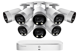 Details about Lorex 4K IP Smart NVR System with 8 Active Deterrence  Security Cameras
