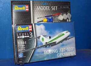 Revell-1-144-63946-Boeing-727-100-Germania-Modelo-Kit-Conjunto-de-Regalo