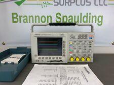 Tektronix Tds3054b 500 Mhz 4 Channel 5 Gss Digital Oscilloscope Calibrated