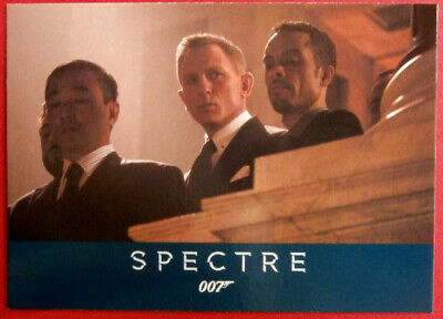James Bond Archives 2016 Spectre Living Daylights Chase Card #24