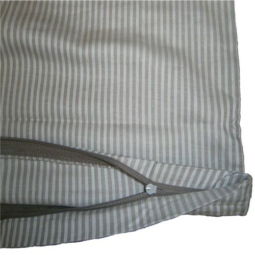 2er Set Sommer Satin Kopfkissenbezug Kissenbezug Kissenhülle 80x80 cm Baumwolle