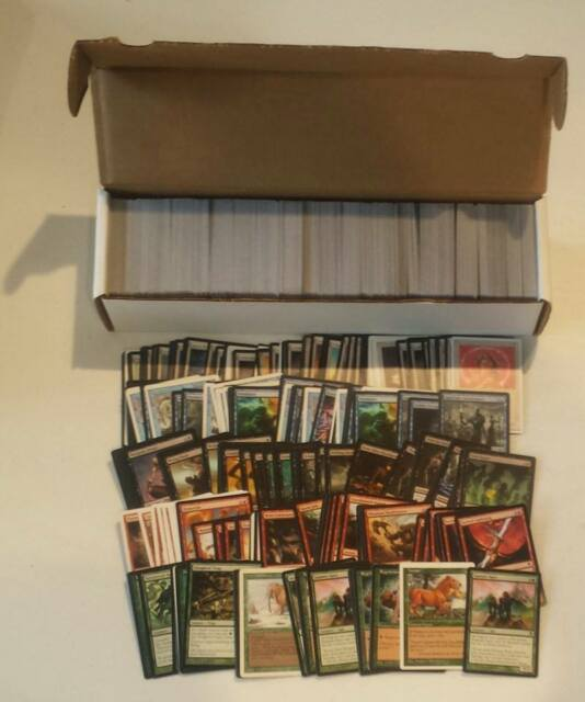 1000 Toy New MtG Common and Uncommon 1050+ Bulk Magic The Gathering Cards MTG