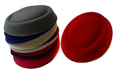 Large Pillbox Fascinator Base w// ridge Hats Making Crafts Fascinators Millinery