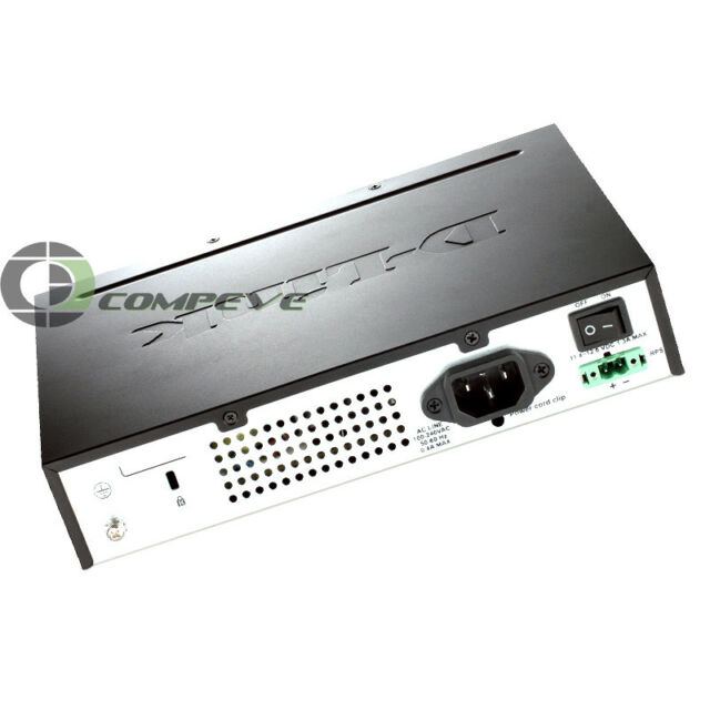 D-Link Dgs-3000-10TC 10-Ports Managed Rack Mountable Switch