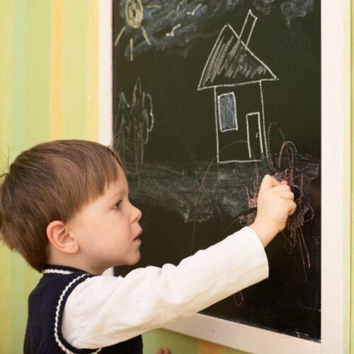 200 x 45 cm Vinyl Stick On Removable Blackboard Sticker Office School chalkboard