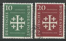 WEST GERMANY. 1956. Evangelical Church Convention Set. SG: 1161. Very Fine Used.