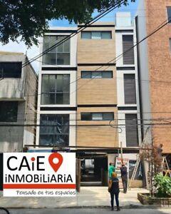Venta departamento exterior 70m, 2 recámaras, Col. Portales, Benito Juárez, CDMX.