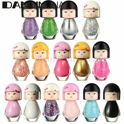HOT Baby Doll Acrylic Neon Nail Art Polish Glitter Manicure Varnish Decors