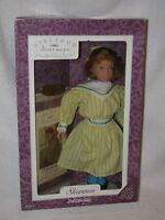 14 Red Haired Shannon Doll-girlhood Journeys W/book Mint In Box