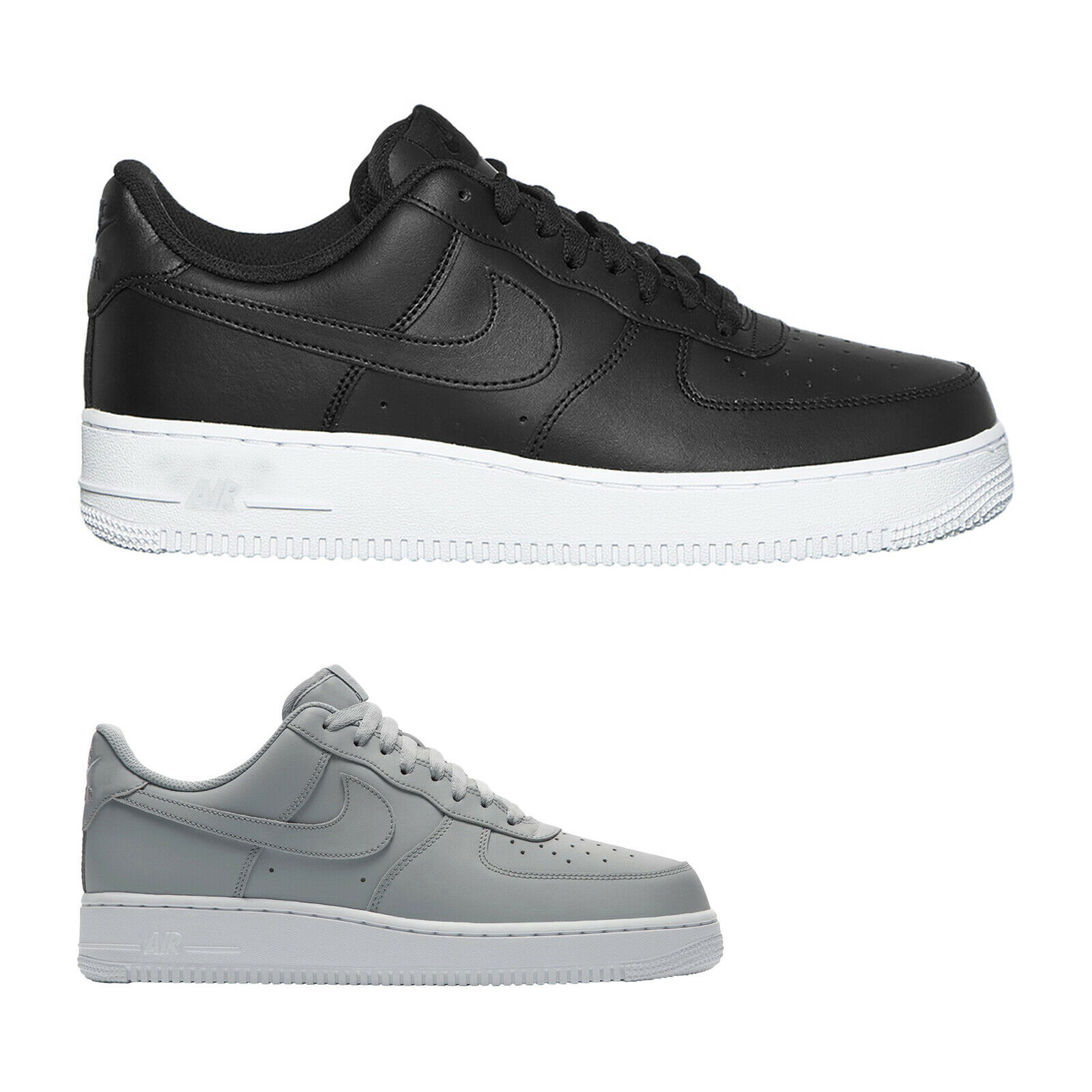 Nike Air Force 1 07 Leather Casual Low-Top Sneakers Mens Trainers